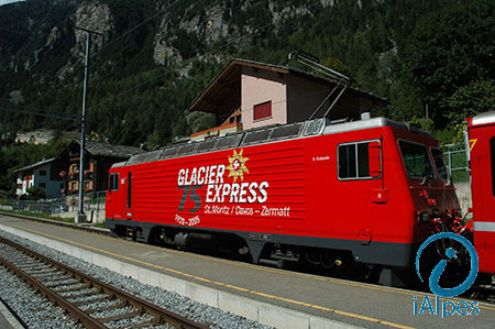 Train Glacier Express, Suisse